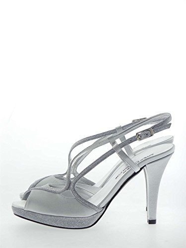 MELLUSO - Sandalias de vestir para mujer Plata