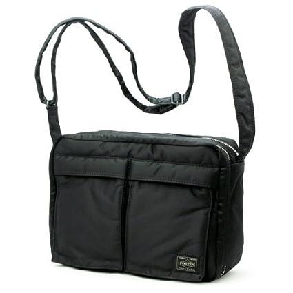 7a9ea32f7245 Amazon.com  Porter Tanker   Shoulder Bag L 08810 Black   Yoshida Bag   Office Products