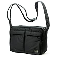 Porter Tanker / Shoulder Bag L 08810 Black / Yoshida Bag by Yoshida Bag