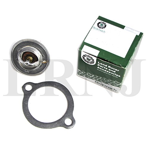 LAND ROVER DISCOVERY 1 1994-1999 / RANGE ROVER CLASSIC/DEFENDER 90/110 THERMOSTAT WITH GASKET SET 190 F / 88C PART# ETC4765 & ERR2429 ()