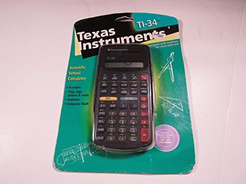 Texas Instruments TI-34 Calculator (Calculator Hexadecimal)