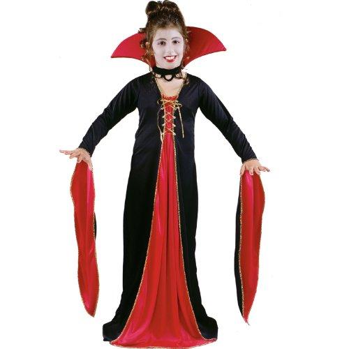 [VICTORIAN VAMPIRESS CHLD SM] (Little Vampire Costume)