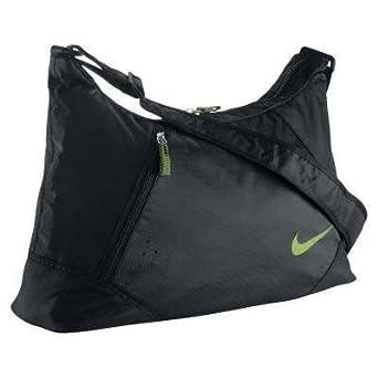 859ecbd3a5e87 Nike Diamond Shoulder Bag Schultertasche Tasche schwarz grün