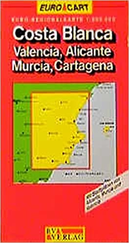 Spain Map: Costa Blanca/Valencia/Alicante/Murcia/Castegna Sheet 6 (GeoCenter Euro Map): 9783575112767: Amazon.com: Books
