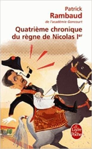 Cinquième chronique du règne de Nicolas Ier (Littérature Française) (French Edition)