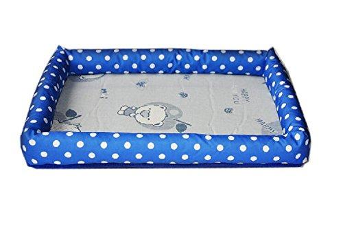 Huihuger Pet Blanket Dog Supplies Summer Cool Mattress Kennel Pet Bed Lettiera (Bule  rosa, Taglia