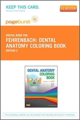 Dental Anatomy Coloring Book - Elsevier eBook on VitalSource (Retail ...