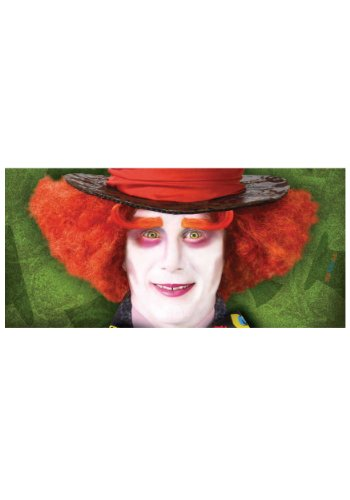 HM Smallwares Orange Mad Hatter Eyebrows,Orange,Standard]()