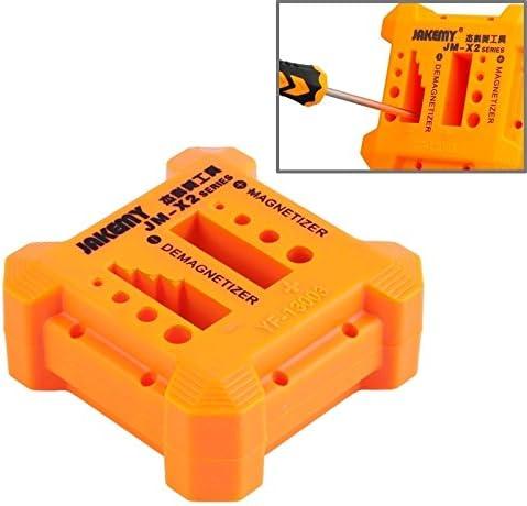 Herramientas para Reparar, JAKEMY JM-X2 Magnetizador/desmagnetizador con Agujeros de Destornillador, tamaño: Medio Kits de reparación: Amazon.es: Electrónica