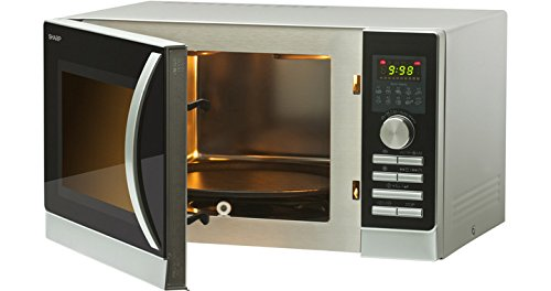 Sharp r-842inw Horno a microondas con doble grill y aire ...