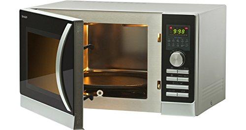 Sharp r-842inw Horno a microondas con doble grill y aire Ventilata ...