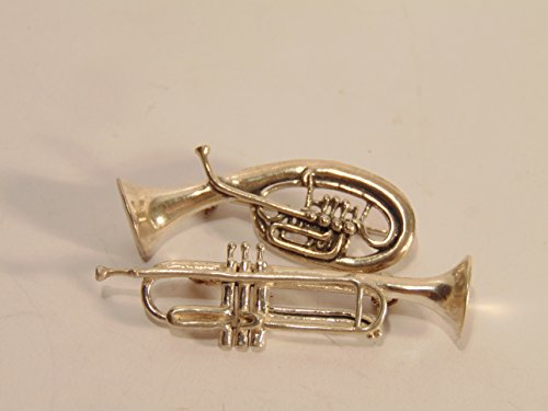 925 Sterling Silver Trumpet - 9