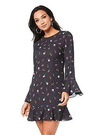 Cooper St Women's Lovebird Long Sleeve Mini Dress, Print Dark, 10