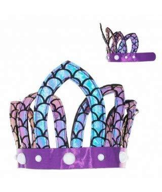 Corona Sirena Marina - Fiesta Cumpleaños Sirenas: Amazon.es ...