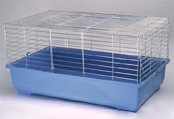 Cage pour lapin octodon Cochon d Inde 80 cm Intérieur en acier Rat  chinchilla Furet 6491f79897bd