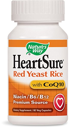 Nature's Way HeartSure Red Yeast Rice and CoQ10, 60 Vcaps