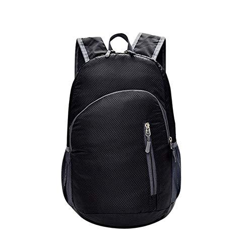 sacchetto Zaino spalla qualità VHVCX Travels impermeabile Borse scuola Moda Zaini Zipper Donne di della ragazze Black ovale alta Nylon 00qEzw