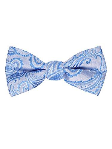 Paisley Bow Tie Paisley 20-C-Light Blue