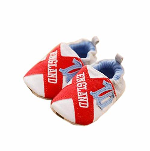 bébé Premier Walkers Semelles souples Coton Chaussures enfant Angleterre
