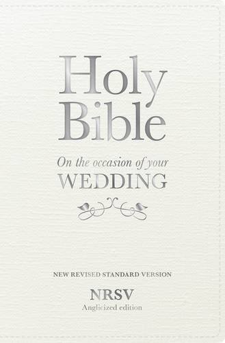 Holy Bible New Standard Revised Version: On the Occasion of Your Wedding, NRSV Anglicized Edition ()