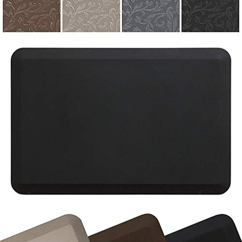 New Life by GelPro Professional Grade Anti-Fatigue Kitchen & office Comfort Mat, 24x36, Midnight ¾