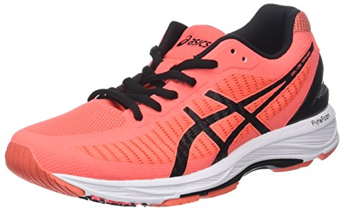 Gel Donna Scarpe Coral 23 Trainer Black 0690 Flash DS Arancione Coralicious Asics Running dAYBqHawax