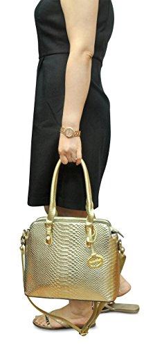 Women's Double Sorrentino Handbag brown Speedy 783 Cruix xHH6dUEw