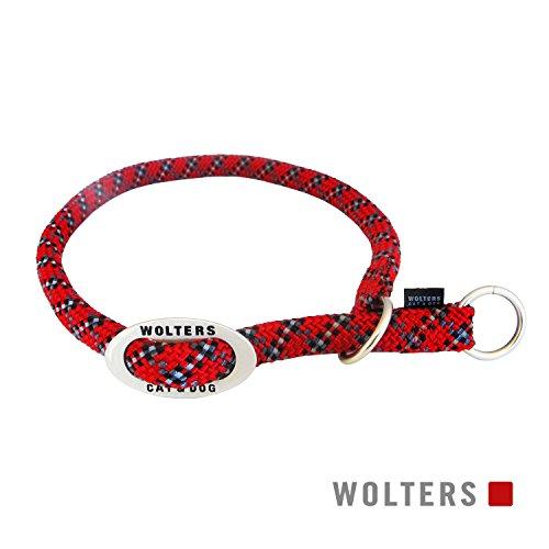 Wolters | Schlupfhalsband Everest reflektierend rot/schwarz | Halsumfang 55 x B 1,3 cm