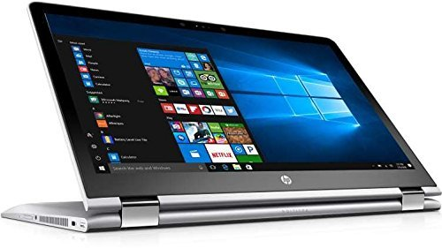 HP x360 2-in-1 Convertible Laptop 15.6 FHD Touchscreen, Intel Core i5-7200U, 8GB RAM, 128GB SSD, AMD Radeon 530 2GB Dedicated Graphics, Windows 10, Stylus Pen (Hp Laptop Memory Cards)