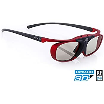 ea71f861b Hi-SHOCK 3D Active Glasses Scarlet Heaven for FullHD HDR  4k Sony   JVC 3D  Projector