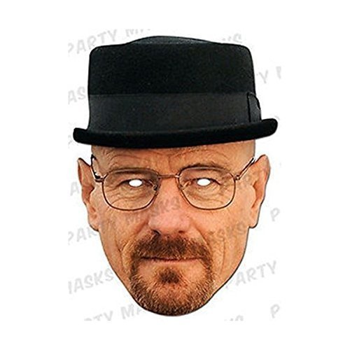 Heisenberg Costume Breaking Bad (Breaking Bad - Heisenberg Face Mask (Full Face Card))
