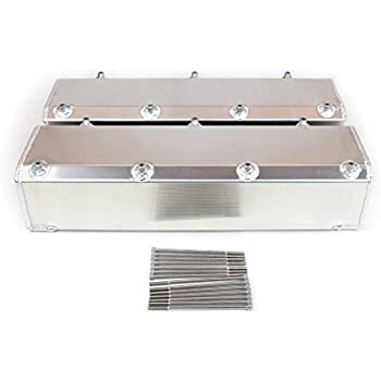 Canton Racing 65-206 Valve Cover For Small Block Chevy 93-97 F Body Fabricated Aluminum