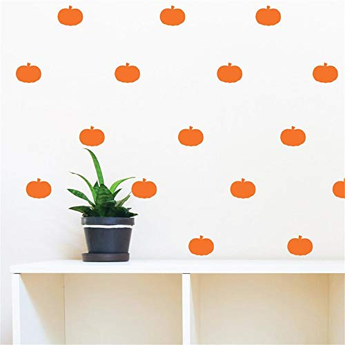 (Wall Stickers Art DIY Removable Mural Room Decor Mural Vinyl Halloween Pumpkin for Living)