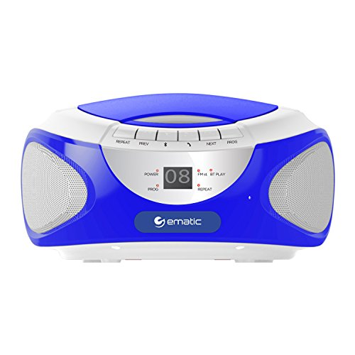 Ematic CD Boom box with Bluetoot...