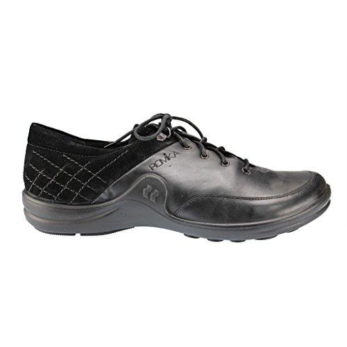 Romika 10203-28 Maddy 03 - Zapatillas de cuero para mujer Schwarz