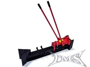 TMS® 10 Ton Horizontal Log Wood Cutter Splitter Manual Hydraulic 2 Speed Wheel