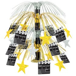 [Movie Set Clapboard Cascade Centerpiece Party Accessory (1 count) (1/Pkg)] (Movie Star Costume Party)