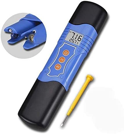 XuCesfs Portable LCD Digital PH Meter High Accuracy With Auto Calibration Aquarium Pool Water Wine Tester Tool