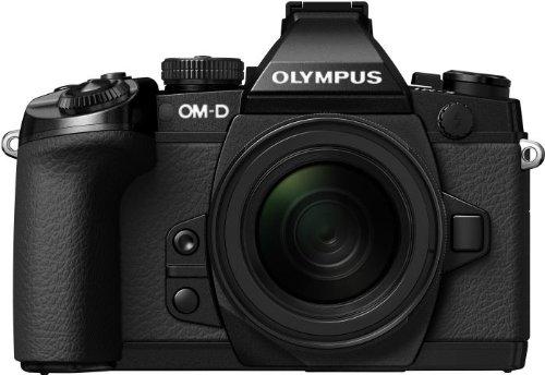 オリンパス OMD EM1 ブラック レンズキット M.ZUIKO DIGITAL ED 1250mm F3.56.3 EZ