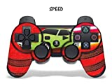 Designer Skin for Playstation 3 Remote Controller - Speed