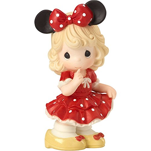 - Precious Moments 162025 Disney Showcase Collection, Disney Minnie Mouse You Fill My World with Sunshine, Bisque Porcelain Figurine