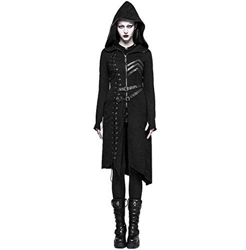 Punk Rave Resident Evil - Hooded Sweater Coat for Women (Small)