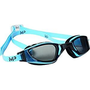 Aqua Sphere Michael Phelps Xceed Swimming Goggles – Blue/Black – Smoke Lens