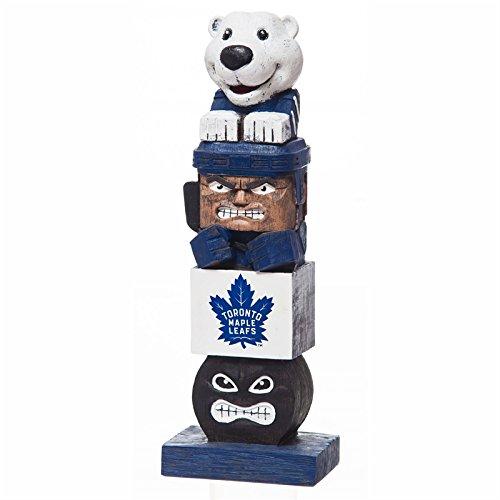 Team Sports America Evergreen NHL Toronto Maple Leafs Tiki Totem ()