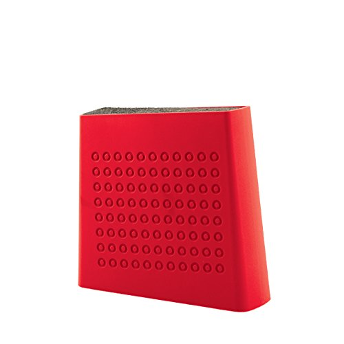 knife block red - 2