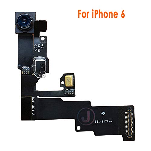 Johncase 1.2MP Front Facing Camera Module w/Proximity Sensor + Microphone Flex Cable Replacement Part Compatible iPhone 6 4.7