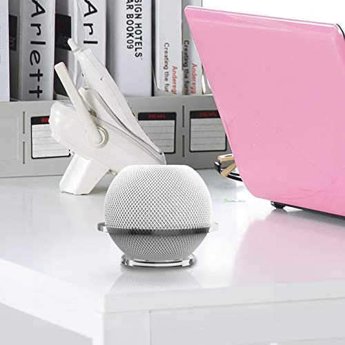 Speaker Wall Mount Shelf Compatible with Homepod Mini, Wall Stand Accessories, Quick and Easy Installation, Space Saving, No Drilling Holes, Acrylic Constructions