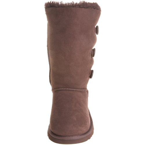 Kid's UGG Bailey Button Triplet,Chocolate,size 1 by UGG (Image #4)