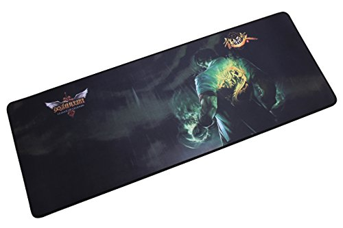 "41jbA2S1juL - LOL Large Gaming Mouse Pad/LOL league of legends Wide & Long Mousepad 12""x32"" (Pelious, X-Large)"