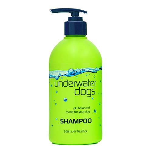 Underwater Dogs Soap Free Dog Shampoo for Dry Itchy Skin - 16.9 Fluid Ounces of Vanilla and Coconut - Deodorizing Professional Dog Shampoo